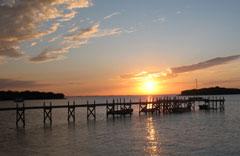 Bahamian sunset