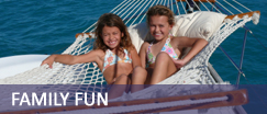Multi generational family yacht vacations