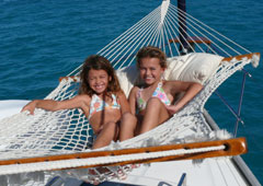 BVI is a kid friendly sailing destination