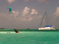 The Grenadines are a great kite location