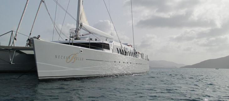 Necker Belle is a 105' mega yacht