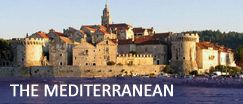 Sailing and motor yachts in the Mediterranean