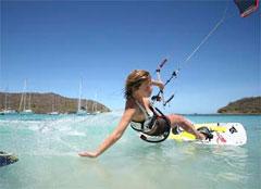 Kiting in the BVI