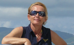 Yacht charter broker, Ulla Gotfredsen