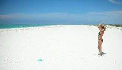The endless beaches of Anegada