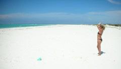 The endless beaches of Anegada