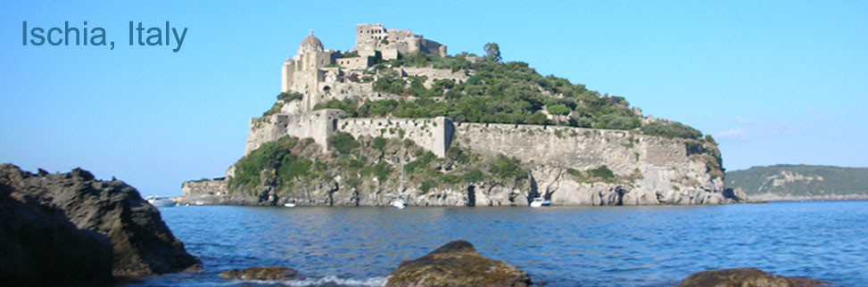Ischia in the Bay of Naples