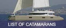 Click here for list of catamarans in the Caribbean