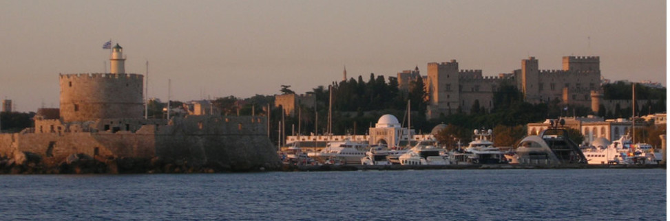 The ancient town of Rhodes