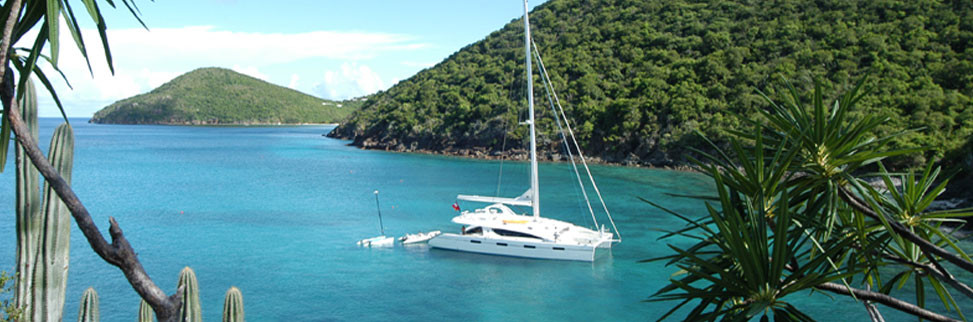 Find you own bay in the BVI