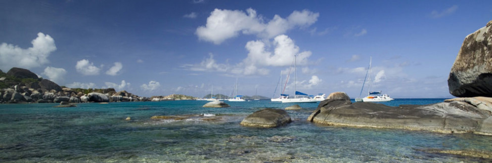BVI anchorage, the Baths